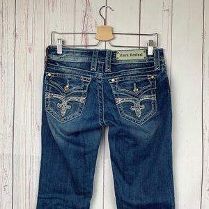 Rock Revival Celine Bootcut Low Rise Jeans SZ 29